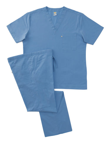 Light Blue Scrub Set