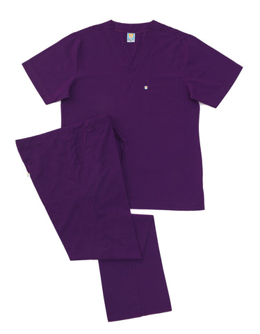 Purple Scrub Set