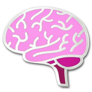 Brain Lapel Pin