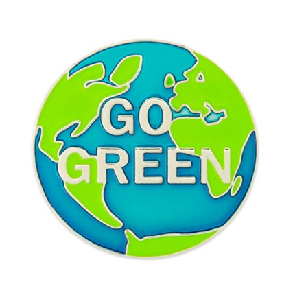 Go Green Lapel Pin