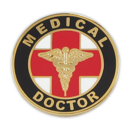 Medical Doc Lapel Pin