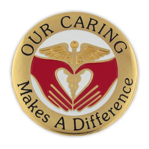 Our Caring Lapel Pin