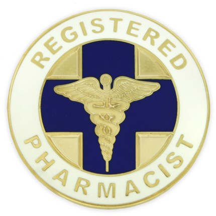 Pharmacist Lapel Pin