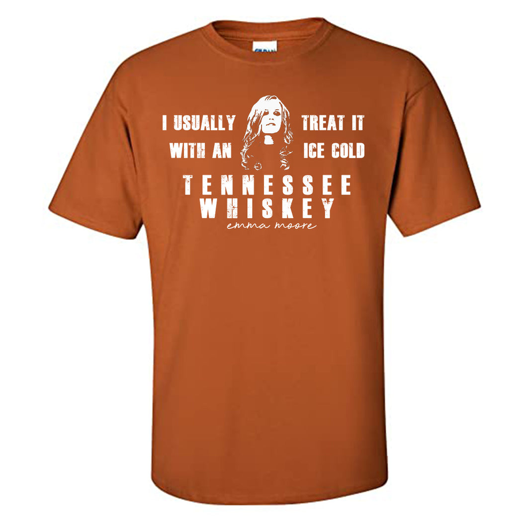 'Tennessee Whiskey' Tee - Orange