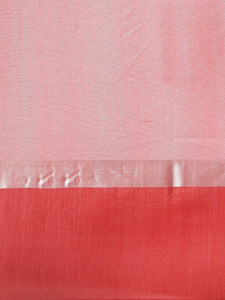 Peach Stylish Linen Dual Tone Saree