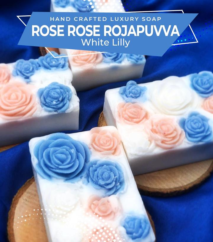 Rose RojaPuvva Soap