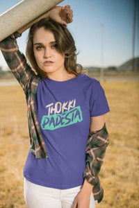 Thokki Padesta - Women's Tee - Royal Blue