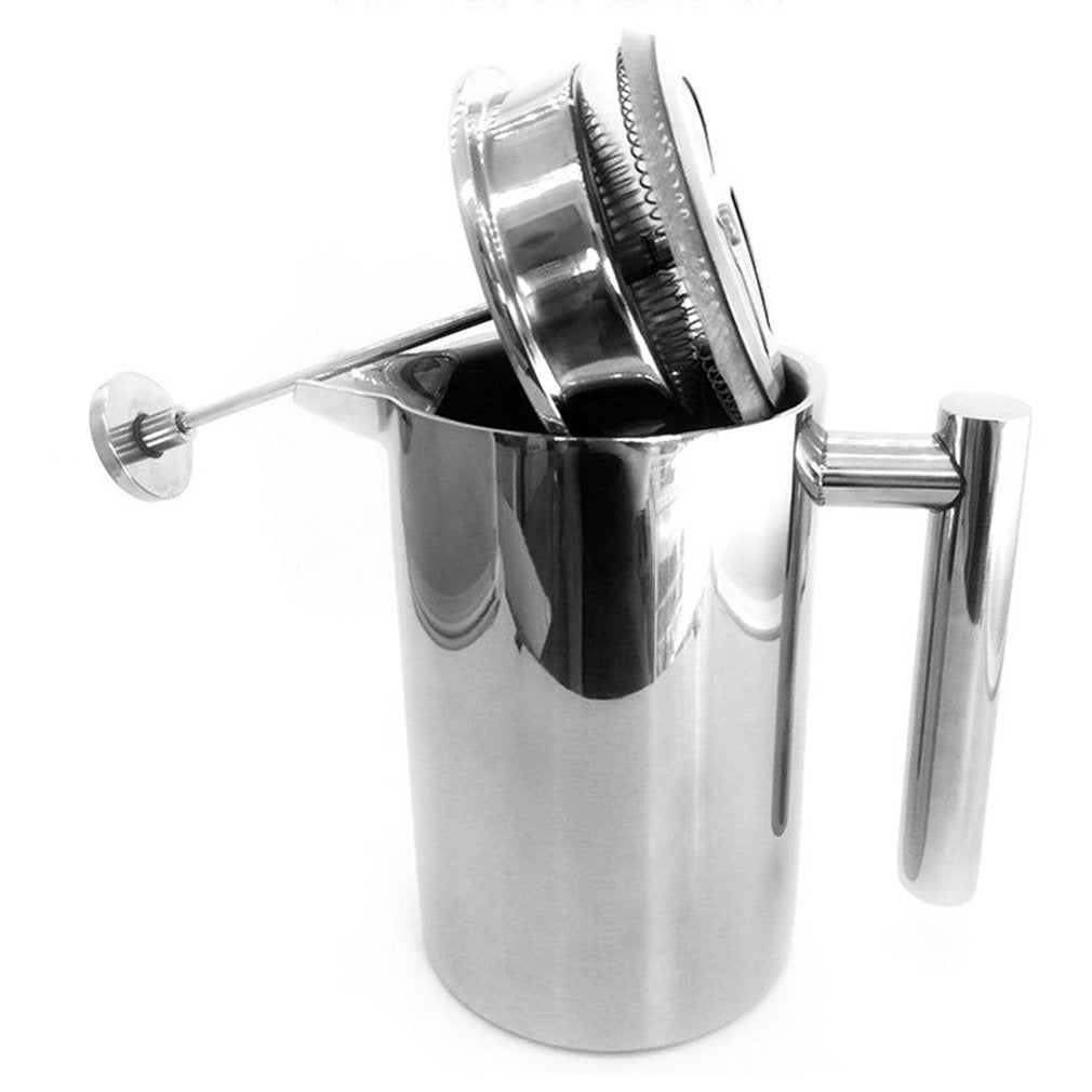 Stainless Steel Pressure Pot Coffee Maker
