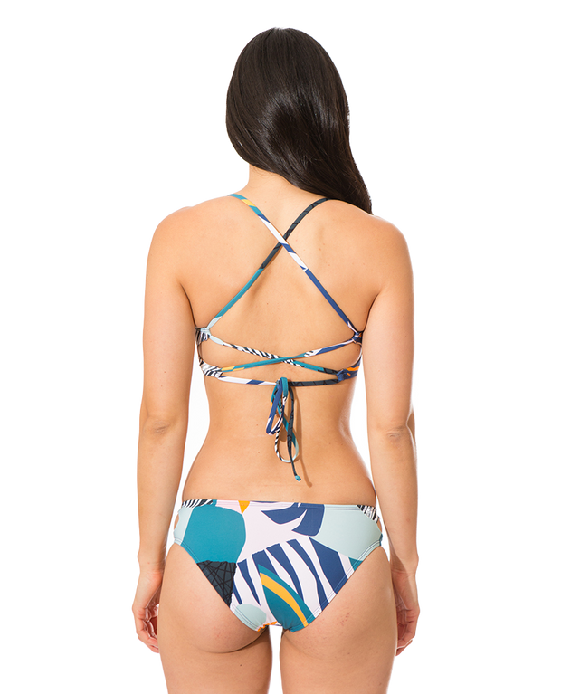 Emma Eco Friendly Full Bum Bikini Bottom - Tropicana