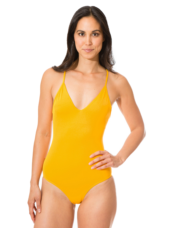 Olivia Eco Friendly Strap Back Classic One Piece - Fun In The Sun
