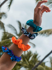 Sensi Graves Bikinis Accessories Recycled Scrunchie-Zen Out