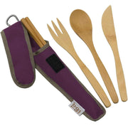 To-Go Ware Mulberry To-Go Ware Utensil Set