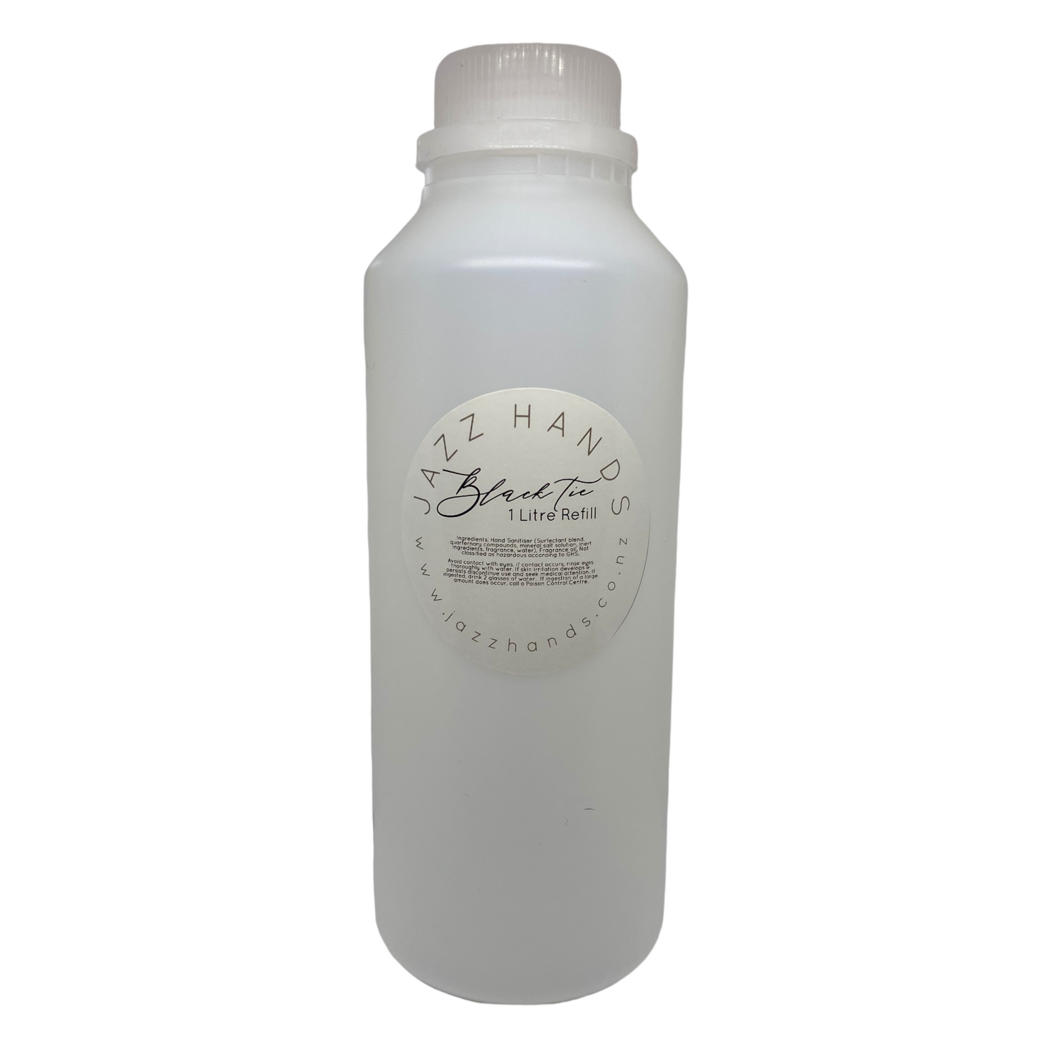 Black Tie Scented - (Alcohol Free) 1 Litre Refill