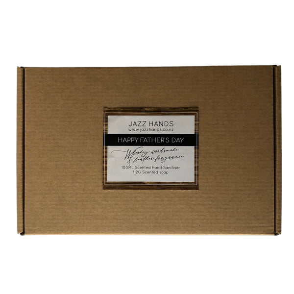 Whiskey, Woodsmoke & Leather Scented - Gift Box
