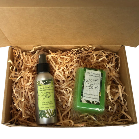 Crisp Green Fresh (Vetiver) Scented - Gift Box