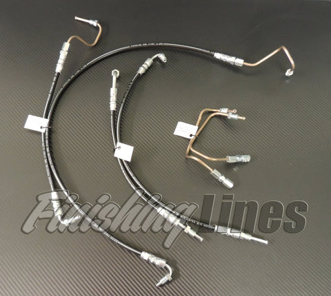 94-97 DC Mini-Tuck Brake Line Kit (Stock Master Cylinder Setup)
