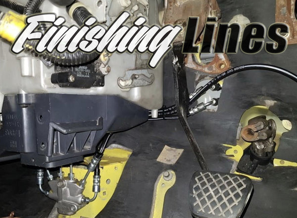 RHD EK Full Tuck Brake Line Kit (Stock Master Cylinder Setup)