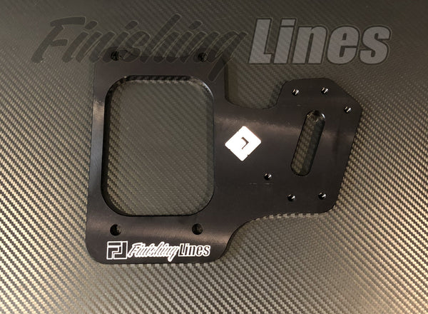 B/D Series Staging Brake Mounting Plate - Black Edition