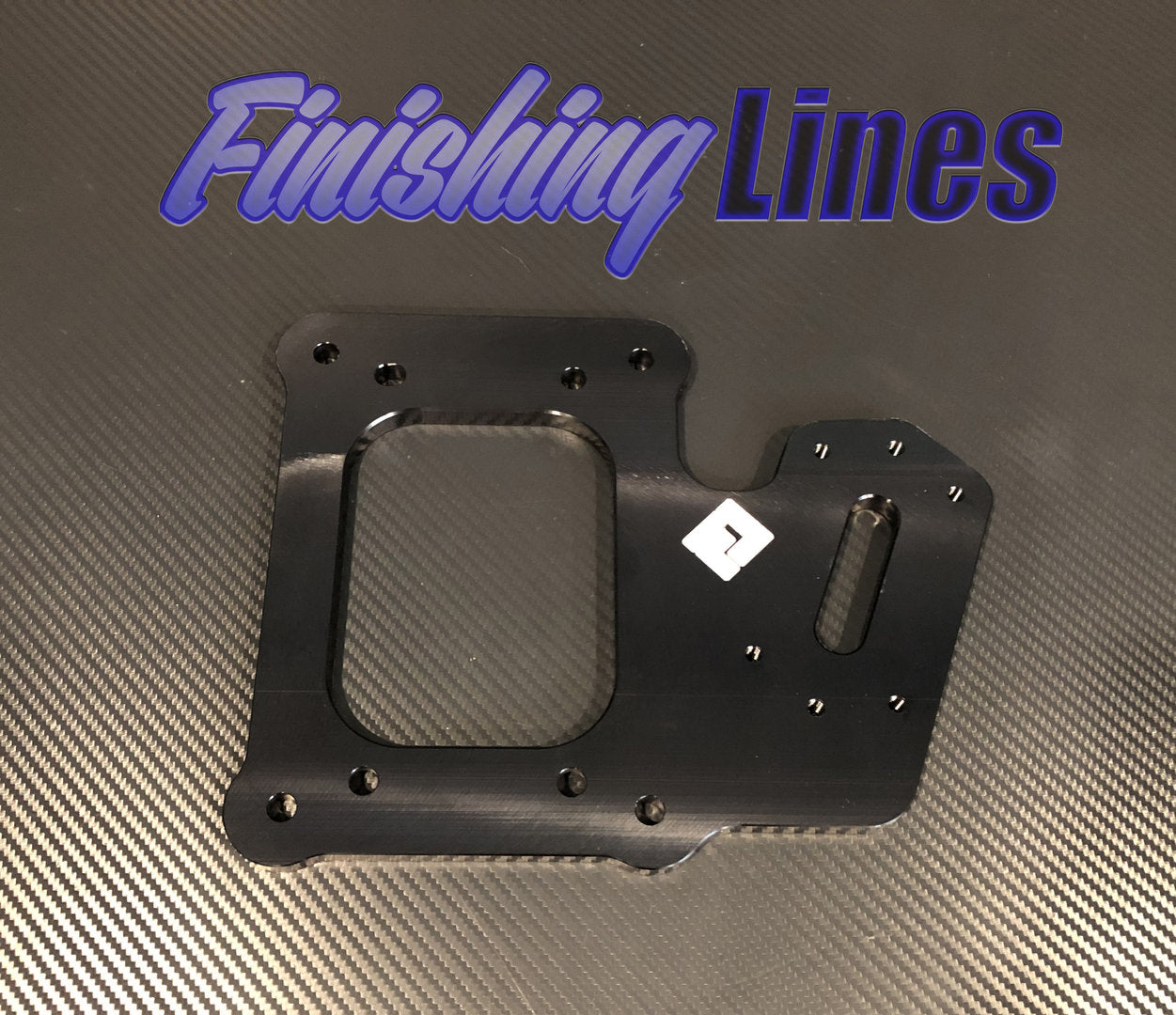 K Series (RSX Shifter Pattern) Staging Brake Mounting Plate - Black Edition