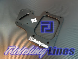 RHD B/D Series Staging Brake Mounting Plate - Black Edition
