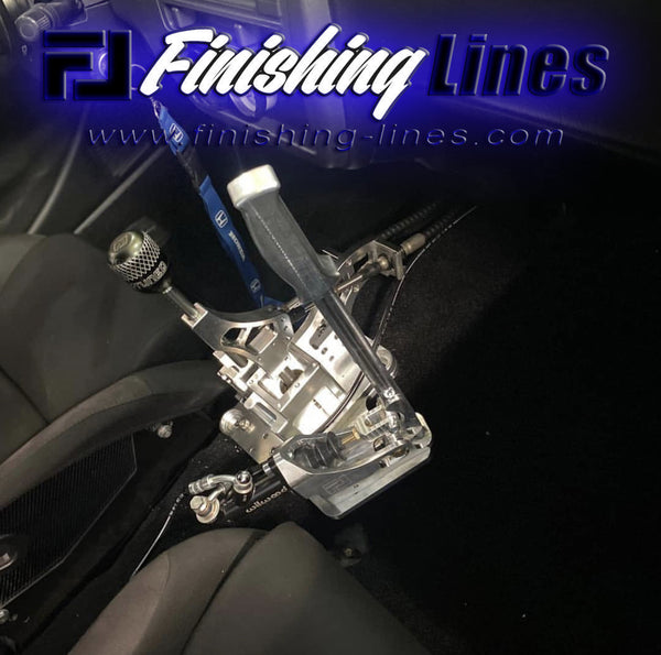 EF/CRX Full Tuck with Inline Staging Brake Provision for FL or Wilwood Hand Brake