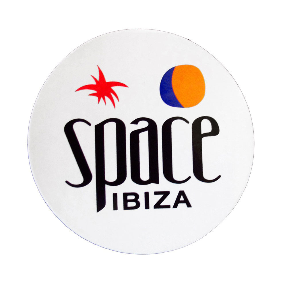 Space Ibiza Large New Logo Sticker