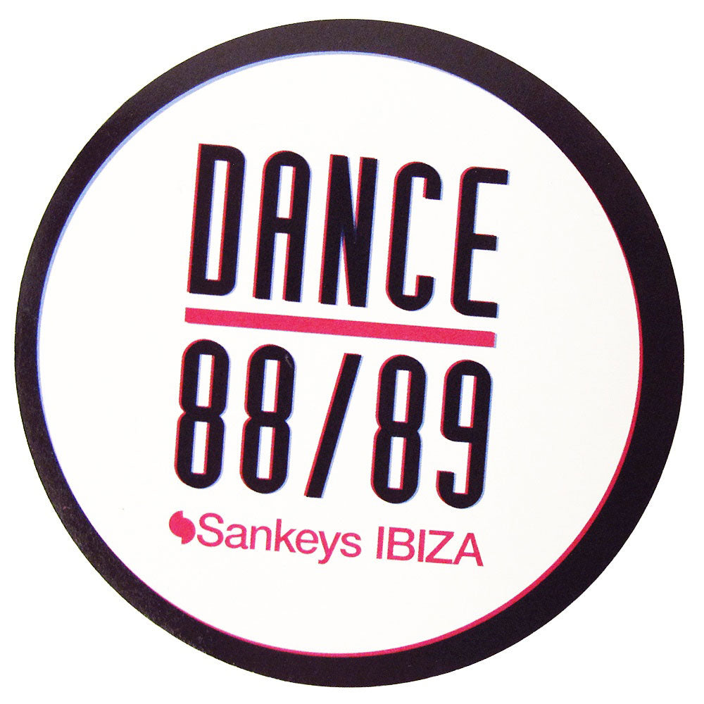 Sankeys Ibiza Dance 88/89 Logo Sticker