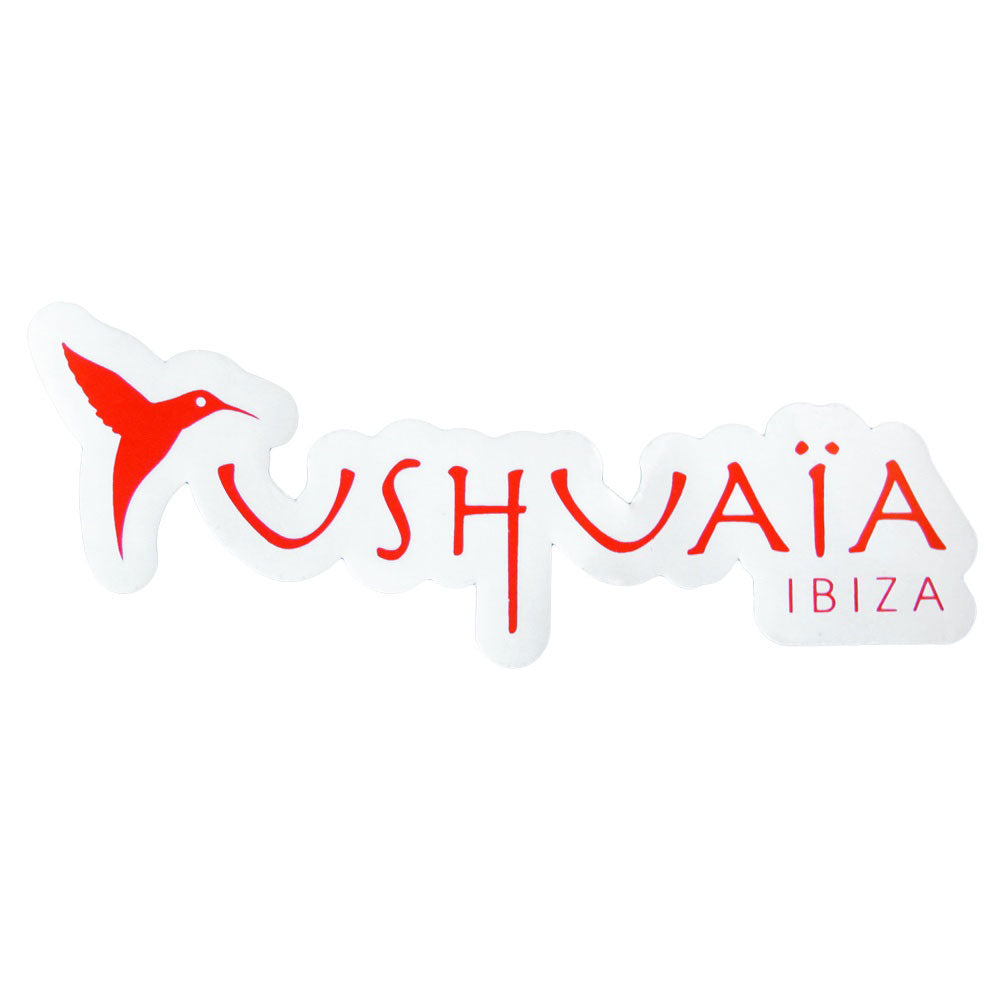 Ushuaia Ibiza Large Logo Sticker