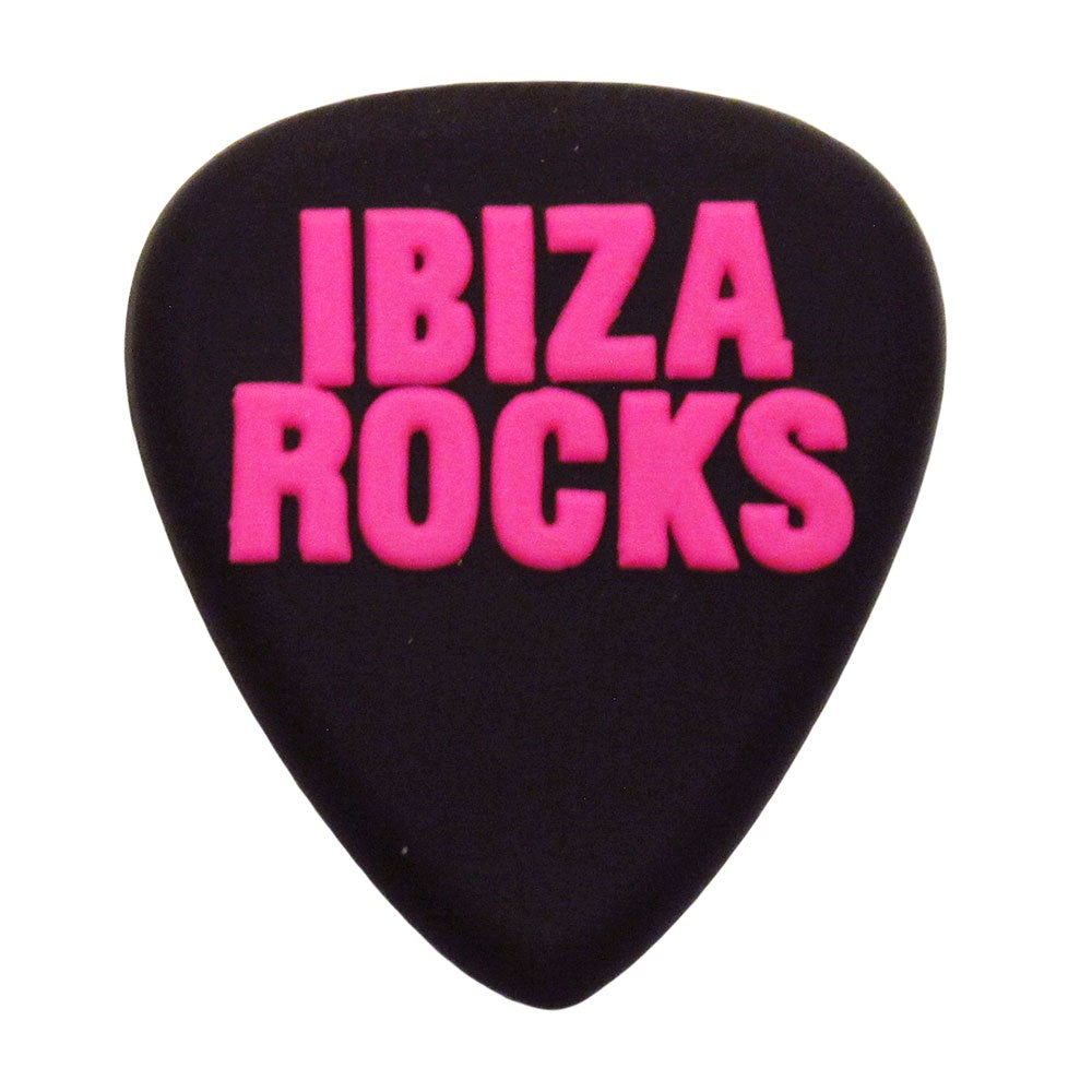Ibiza Rocks Rubber Fridge Magnet