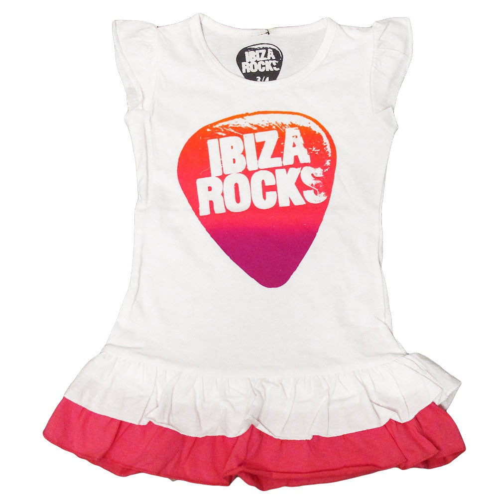 Ibiza Rocks Girls Ruffle Dress