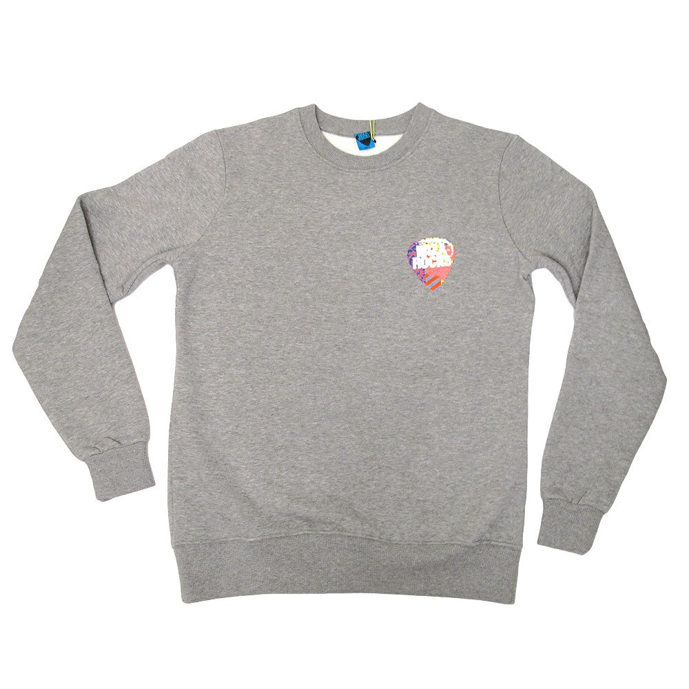 Ibiza Rocks Small Logo Grey Marl Sweater