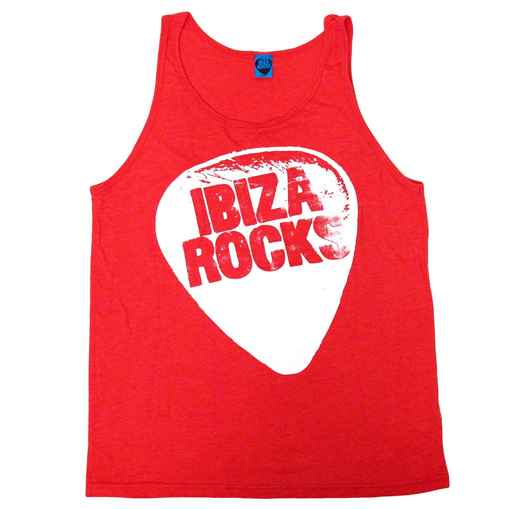 Ibiza Rocks Women's Logo Red Tanktop