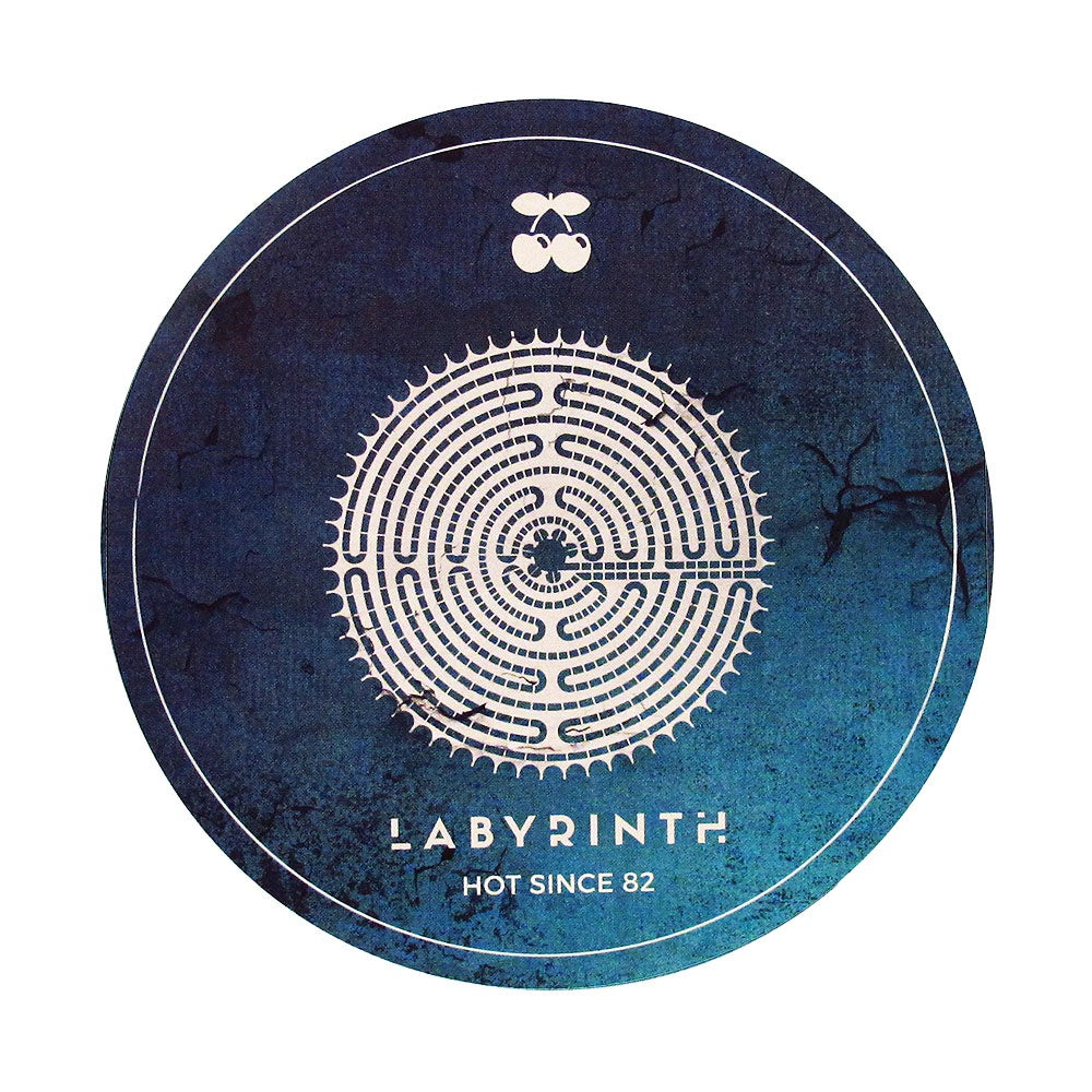Pacha Ibiza Sticker 2017 Labyrinth Hot Since 82