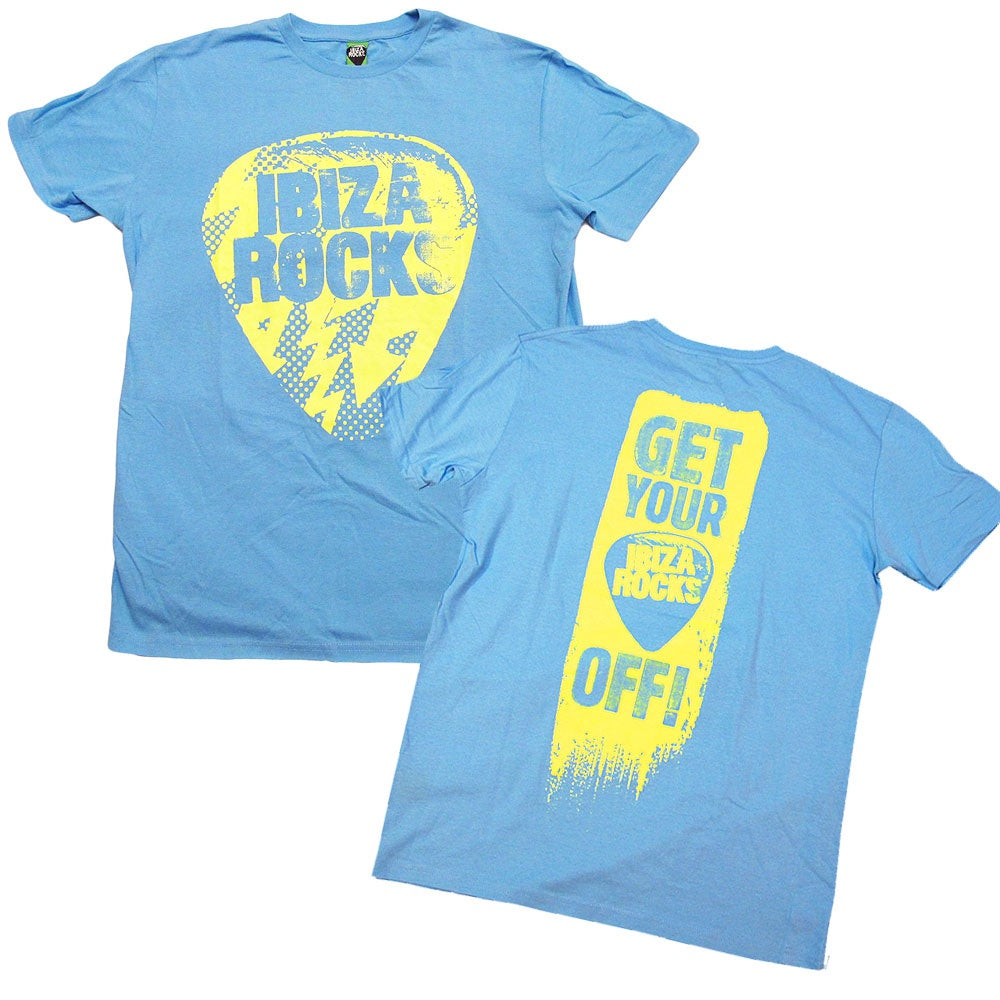 Ibiza Rocks T-Shirt Uomo Plec Off