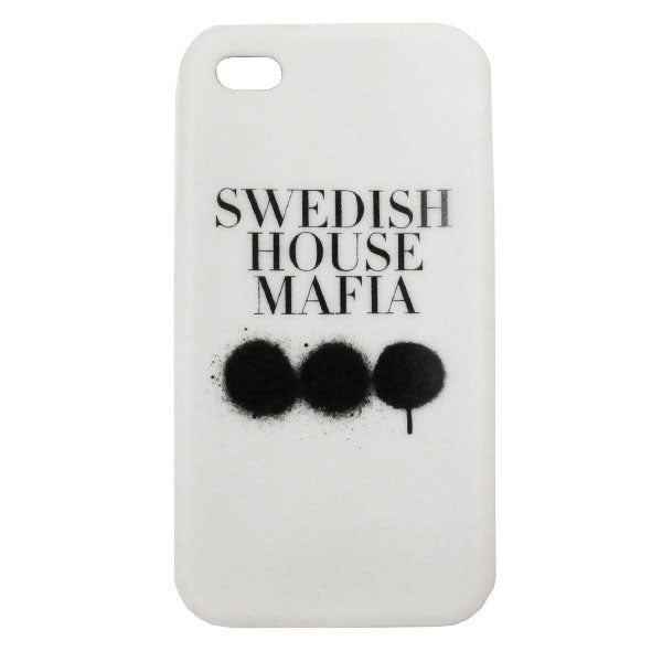 Swedish House Mafia Custodia in Silicone per iPhone 4