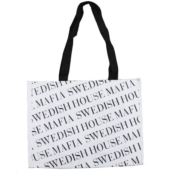 Swedish House Mafia Borsa Shopping Bianco