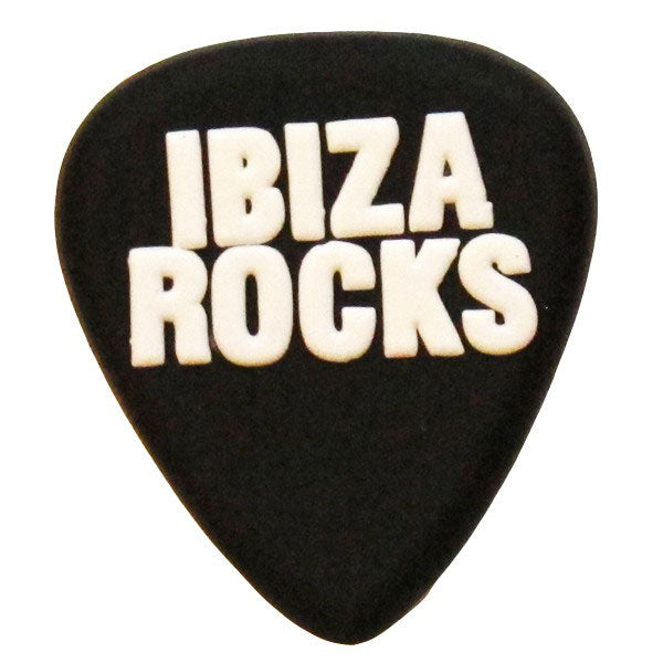 Ibiza Rocks Plectrum PVC Fridge Magnet