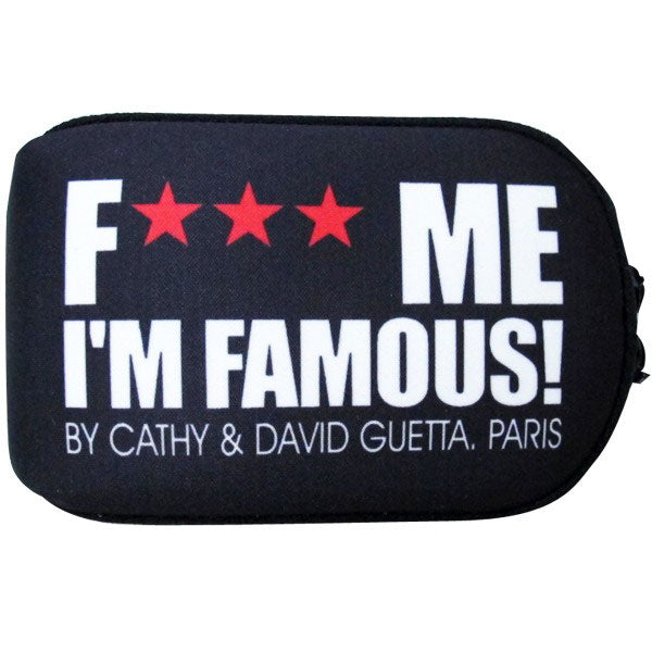David Guetta F Me I'm Famous Ibiza Classic Logo Pillow Camera Case