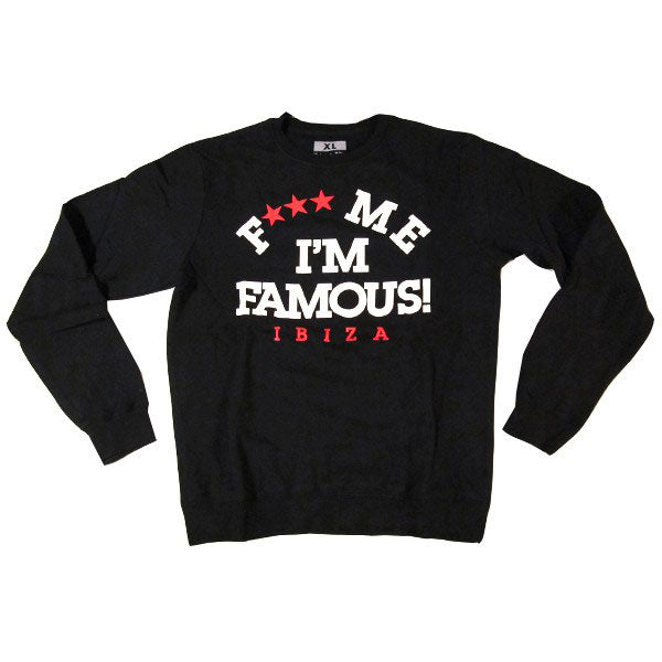 David Guetta F Me I'm Famous Ibiza Athletics Logo Sweater