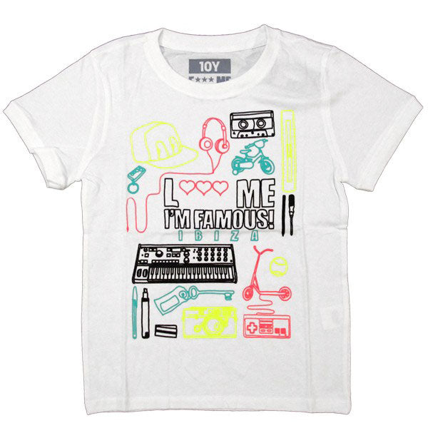 David Guetta Love Me I'm Famous: Neon Boy Kinder T-shirt