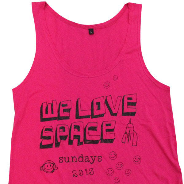 We Love Space Smiley 2013 Women's Vest