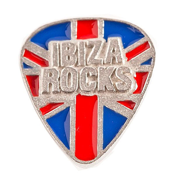 Ibiza Rocks Union Jack Pin Badge