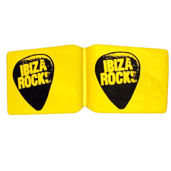 Ibiza Rocks Yellow Oyster Card Cover