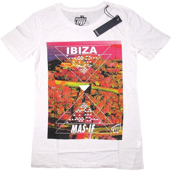 Pukka Up Ibiza Town Mens T-Shirt