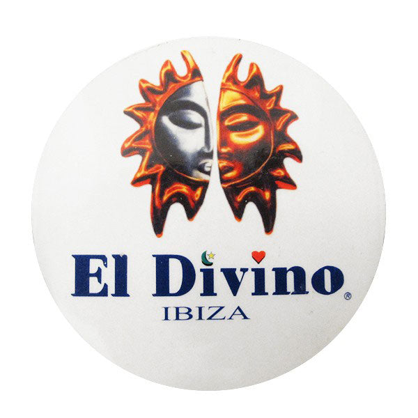 El Divino: Logo Sticker
