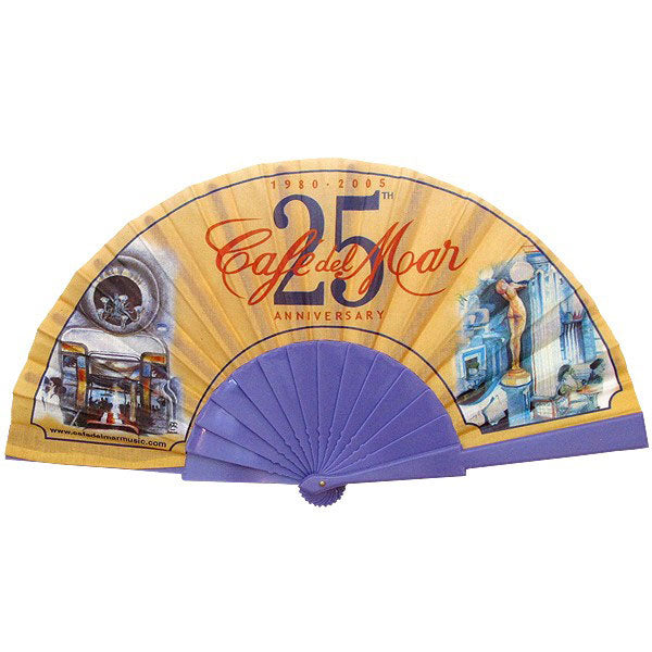 Cafe Del Mar 25th Anniversary Plastic Fan