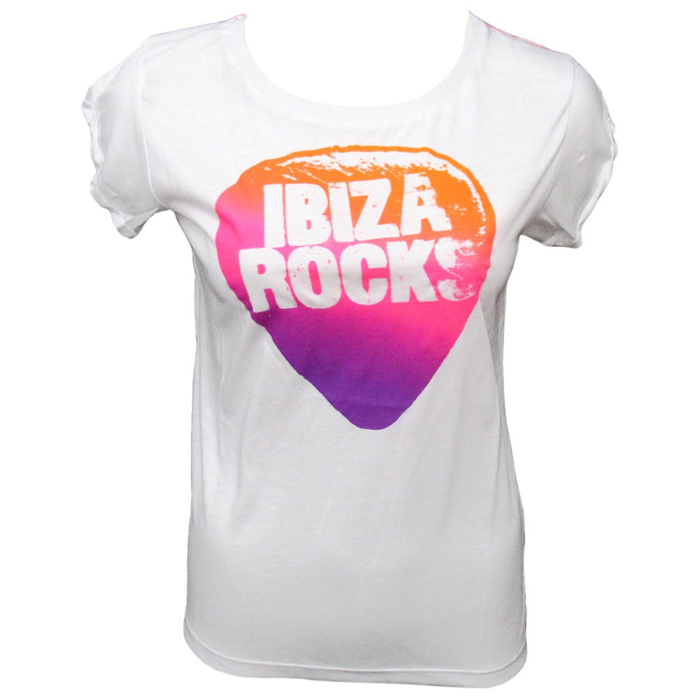 Ibiza Rocks Open Back Loose Fit T-Shirt