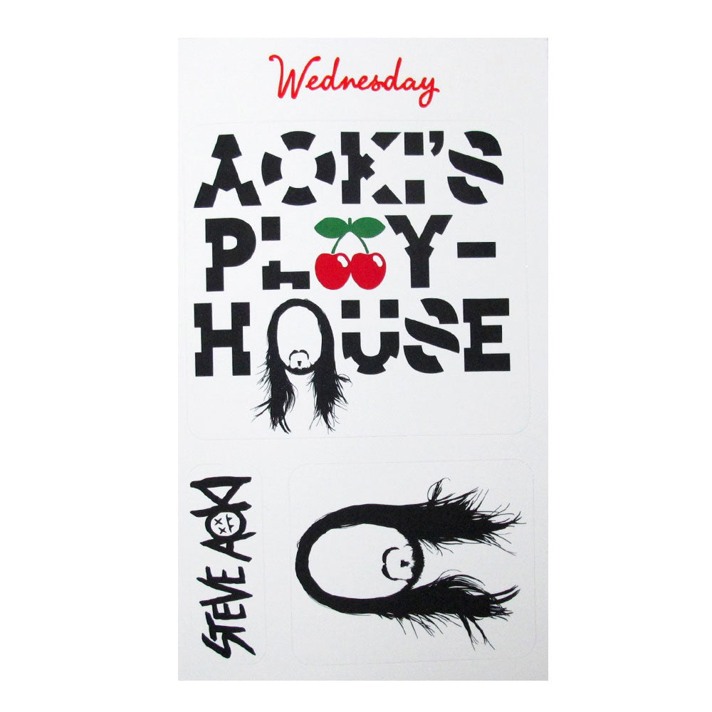 Pacha Aoki's Play House 2014 Sticker Set