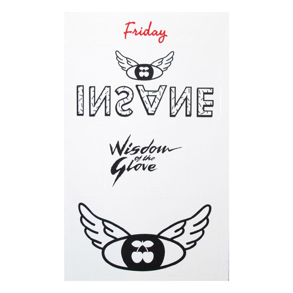 Pacha Insane 2014 Sticker Set