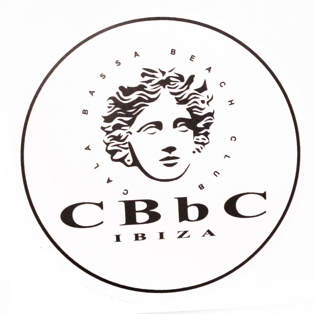 Cala Bassa Beach Club CBbC Ibiza Logo Sticker